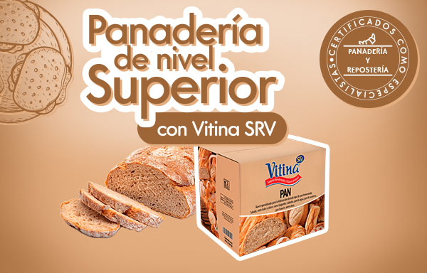 Panadería de Nivel Superior con Vitina SRV